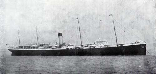 S.S. Runic, Twin-Screw, 12,500 Tons